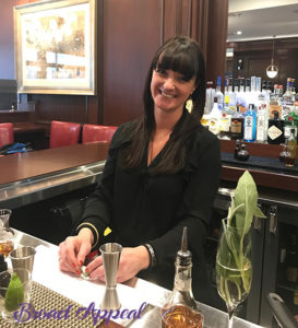Lady Adams drink recipe and demonstration on Broad Appeal TV with Donna from The Industry