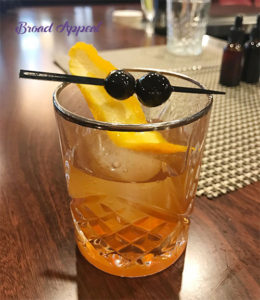 Old Fashioned drink recipe and demonstration on Broad Appeal TV