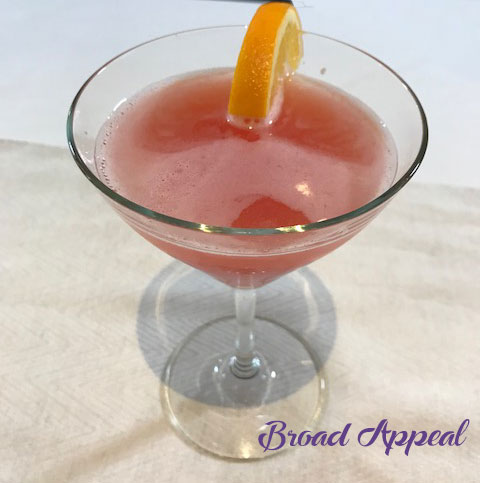 Blood orange cosmo recipe with Fallon and Melissa Fassel Dunn