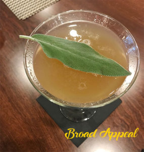 Lady Adams drink recipe and demonstration on Broad Appeal TV