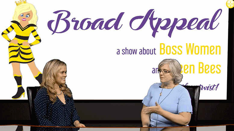 Melissa Fassel Dunn of Broad Appeal and Beth Greenawalt of Boston Parent solutions