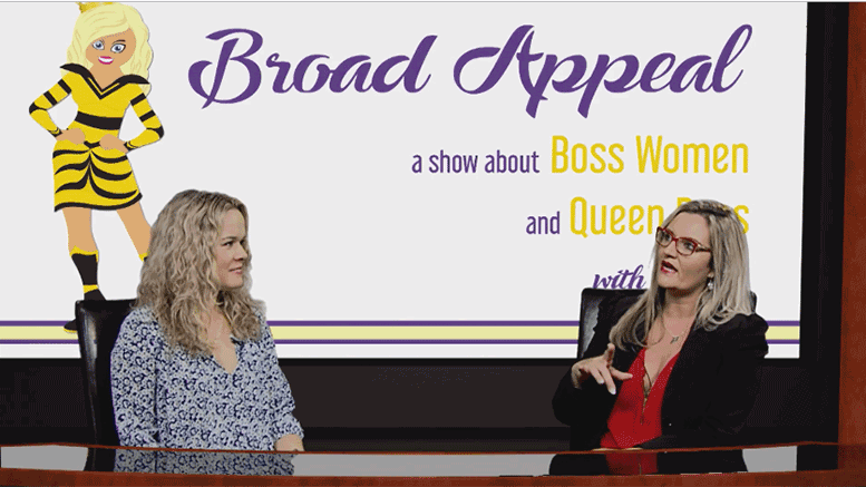 Mel Gillespie and Melissa Fassel Dunn on Broad Appeal